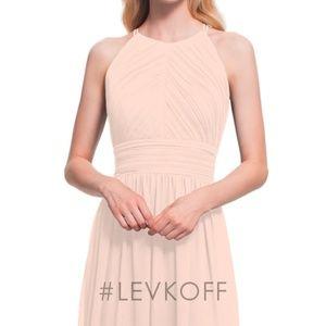 Bill Levkoff Bridesmaid Dress - Shell Pink